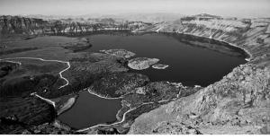 Nemrut'un suyu çekiliyor, acilen önlem alınmalı!