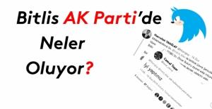 Bitlis Ak Parti'de neler oluyor?