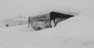 Bitlis kar hapsinde