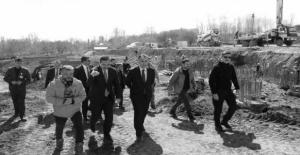 Vali Çağatay, Cumhurbaşkanlığı köşkü inşaat çalışmalarını inceledi