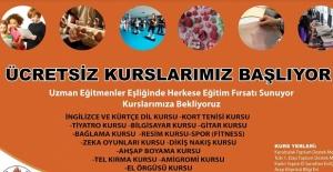Bitlis Belediyesinin ücretsiz kurs kayıtları başladı