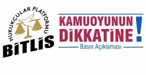 Bitlis Hukukçular Platformu: 'Kürtçe tabelalar tekrar asılmalıdır!'