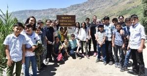 Nemrut Dağı'nda Tatvan'lı öğrencilere sıradışı eğitim