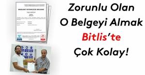 Bitlis'te 64 kişiye 'Mesleki Yeterlilik Belgesi' verildi