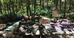 Bitlis'te PKK'ye ait 32 odalı sığınak tespit edildi