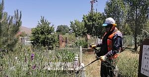 Tatvan'daki mezarlıklar temizleniyor