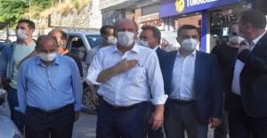 Muharrem İnce'den Bitlis'te esnafı ziyareti
