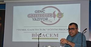 """""""Genç Gazeteciler Yazıyor"""" projesi başladı"""